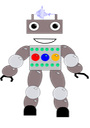 Very Happy Robot no BG